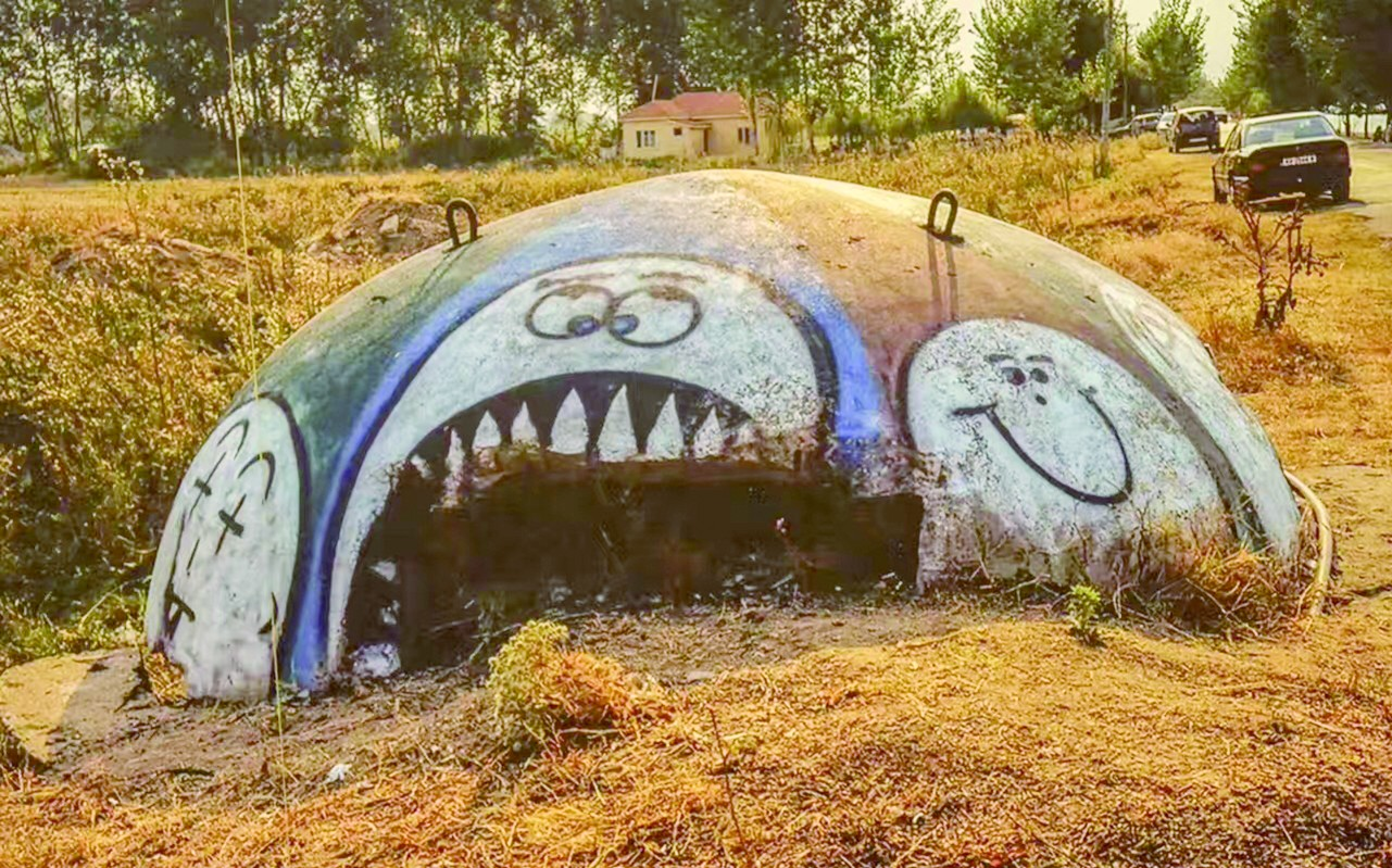 废弃奇观 阿尔巴尼亚地堡