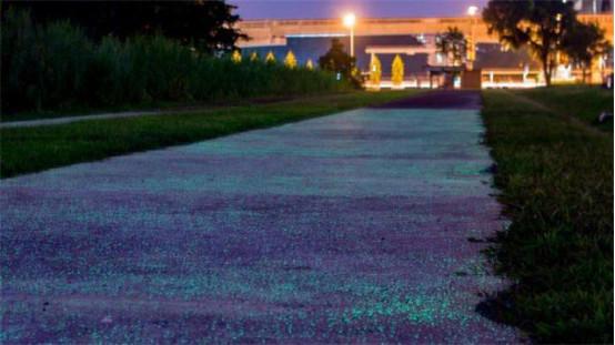 新加坡测试夜光马路