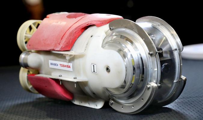 这个机器人可能在福岛核电站内发现放射性核残渣