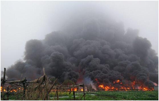 印尼森林大火浓烟造成学校停课 数十人送医