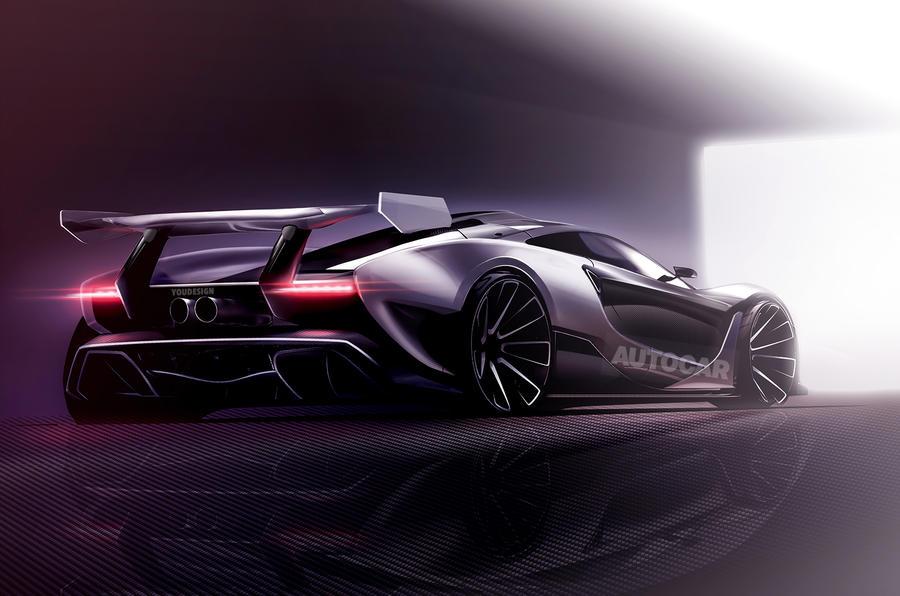 赛道利器 迈凯伦P15超跑有望年底发布