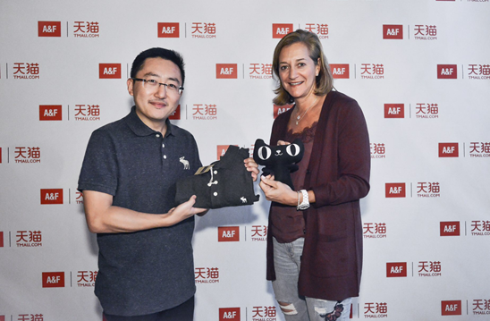 A&F独家入驻  天猫将实现全球时尚品牌大满贯