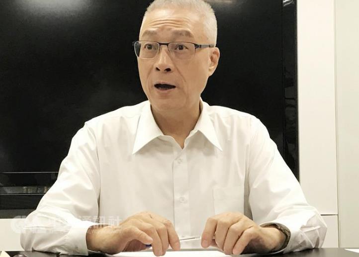 吴敦义表态国民党团首席副书记长兼任智库副执行长