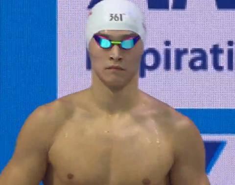 遺憾!孫楊800自僅獲第五 錯失個人世錦賽第10金