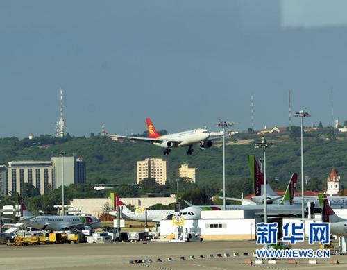 媒体:葡萄牙和中国首条直航航线成功首航