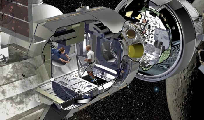 NASA深空栖息地将重复利用航天飞机部件
