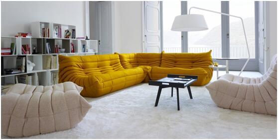 法国女性杂志谈家具配色推荐咖喱黄:给房间加点料
