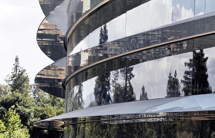 发现一些不为人知的细节:苹果新总部照片再曝