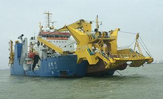 揭秘中国禁止出口的造岛神器