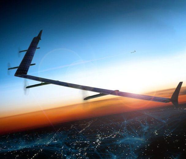 """太阳能无人机发展中美""""争雄"""" 这些优势让全球关注"""