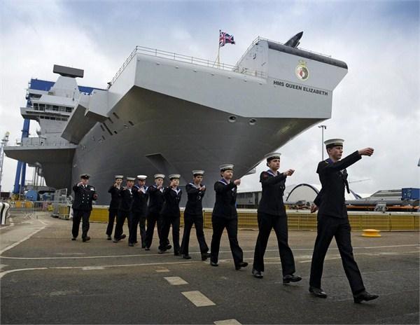 """恢复""""帝国""""光辉?英国或派航母巡航南海背后小九九"""