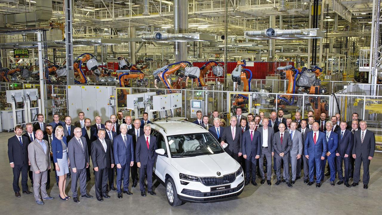 斯柯达Karoq紧凑型SUV投产 10月份上市