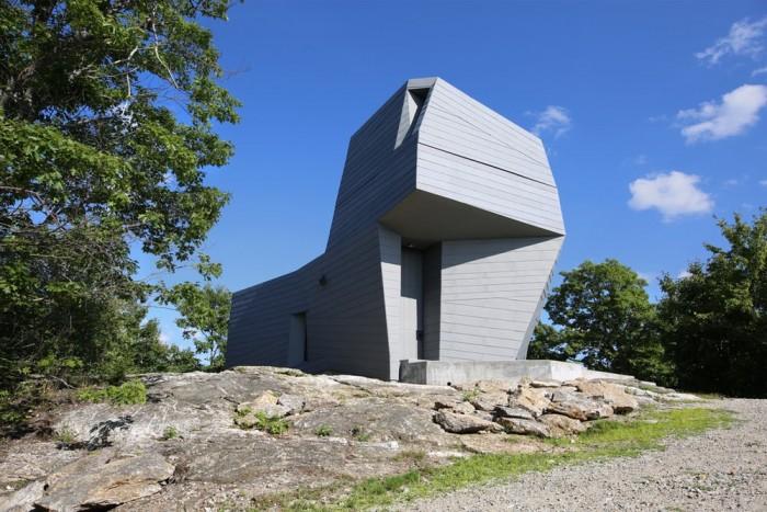 天文爱好者看过来!创新的几何造型天文台