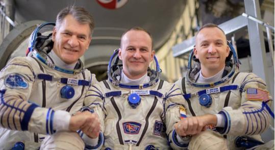 """""""联盟""""号飞船将载三名宇航员前往国际空间站"""