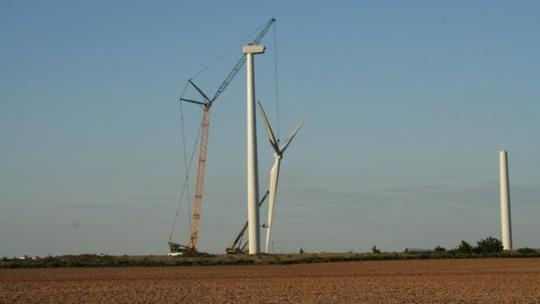通用电气将在俄克拉荷马州建设全美最大风力发电场