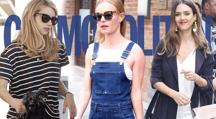 这4位好莱坞Icon的衣品没挑战,我也就看了108遍吧