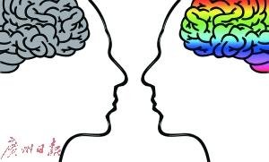 大脑决定了 男人有理也吵不过太太