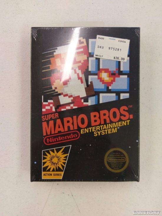 绝版NES游戏网上拍卖 最后被人花20万元买下