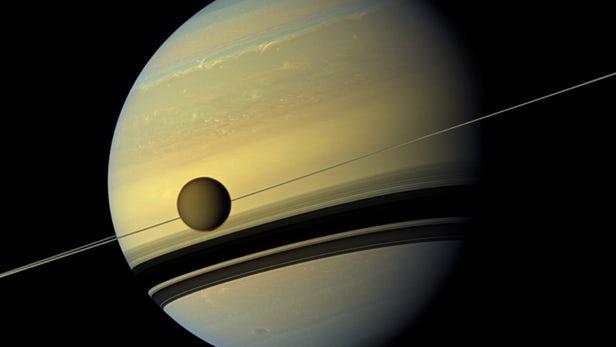 NASA:土卫六Titan或存在构成生命的关键部分