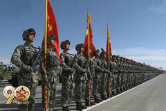 朱日和部队集结完毕静候阅兵