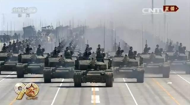 燃爆的建军90周年大阅兵,传递五个重大信号