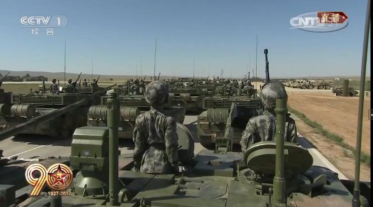 阅兵陆上作战群:机动作战、立体攻防
