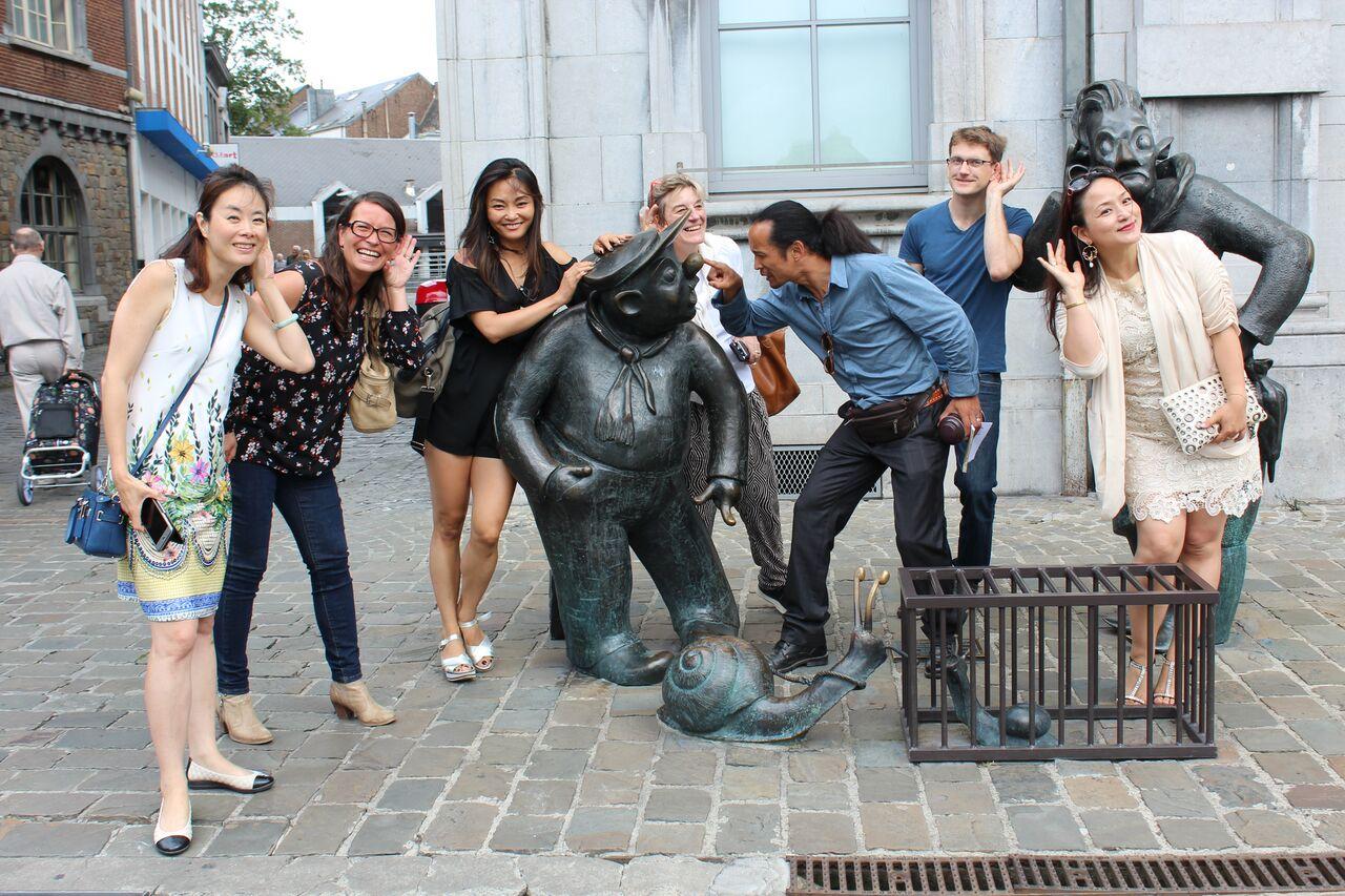 荷比卢华人旅游协会 比利时瓦隆大区深度考察行