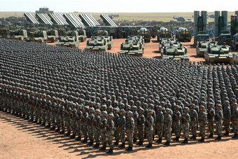 大漠列阵:全景看朱日和阅兵