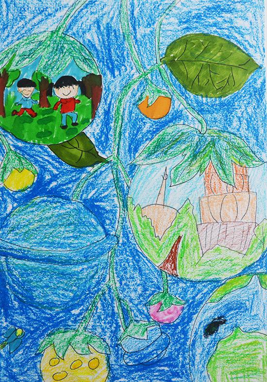想·未来——我的世界网友作品:星球树