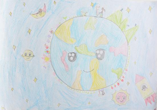 想·未来——我的世界网友作品:快乐地球