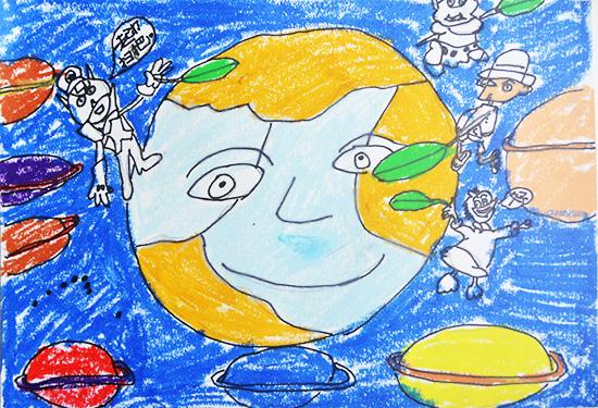 想·未来——我的世界网友作品:扫地球