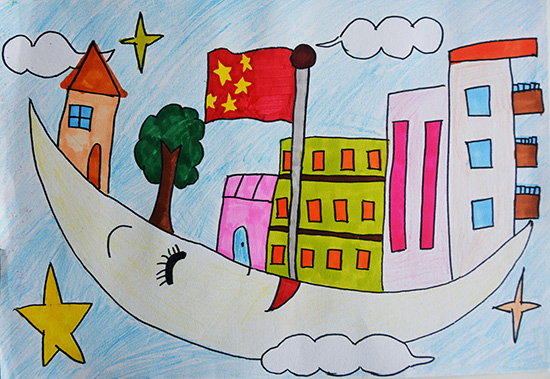 想·未来——我的世界网友作品:空中学校