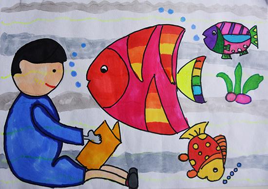 想·未来——我的世界网友作品:游鱼