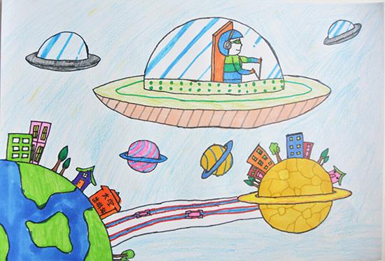 想·未来——我的世界网友作品:我的太空站