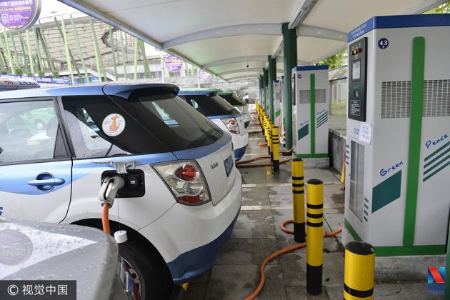 """北京出租车""""油改电"""":充电、换电均入名单"""