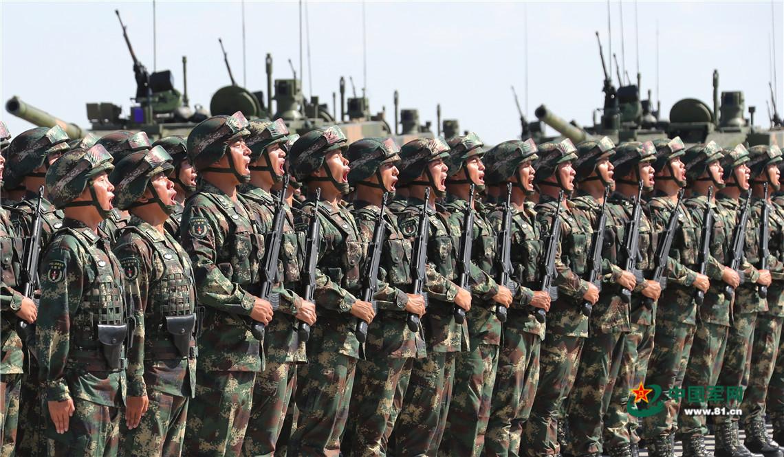 中国人民解放军训练-大国利器 朱日和阅兵先进武器