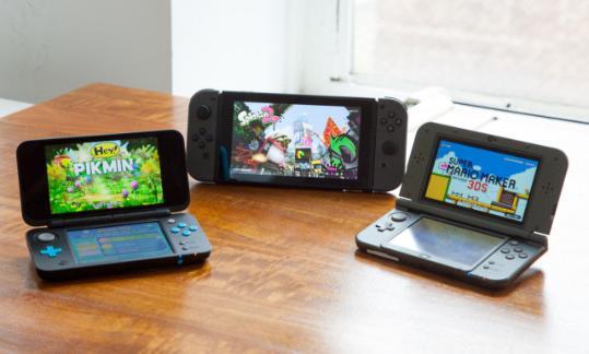 都是任天堂 Switch和3DS该如何选?