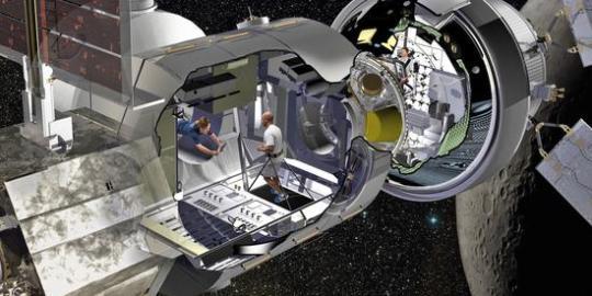 为登陆火星准备!美构建深空栖息地全尺寸原型