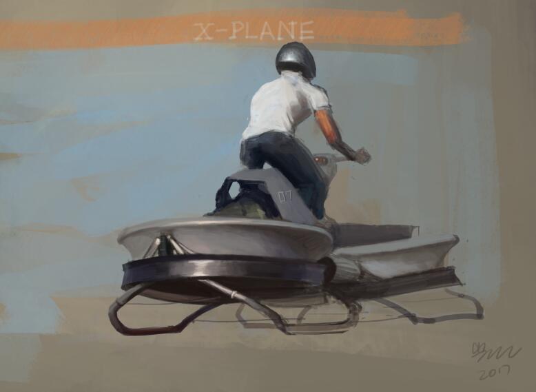 想·未来——我的世界网友作品:三维飞行器