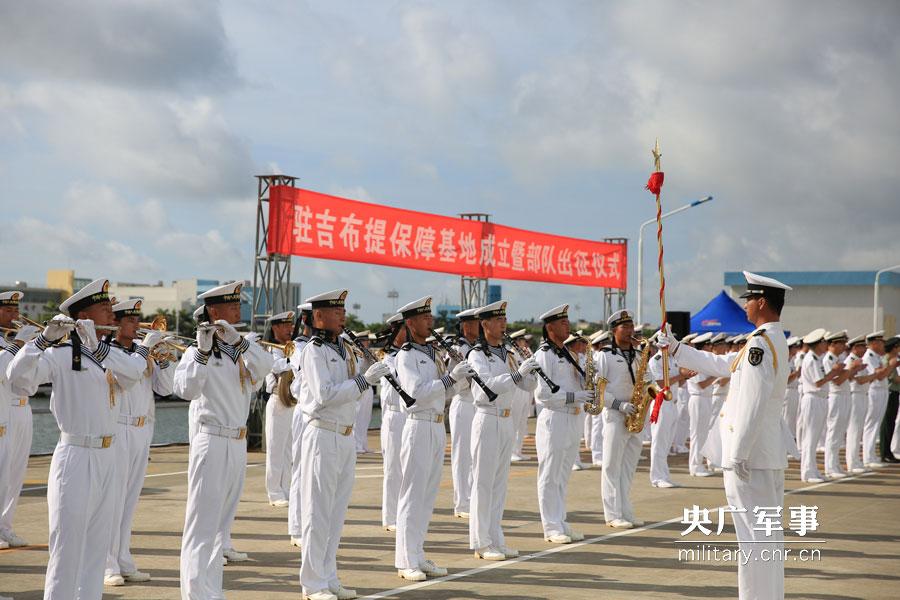 建军节礼物!中国首个海外保障基地建成投入使用
