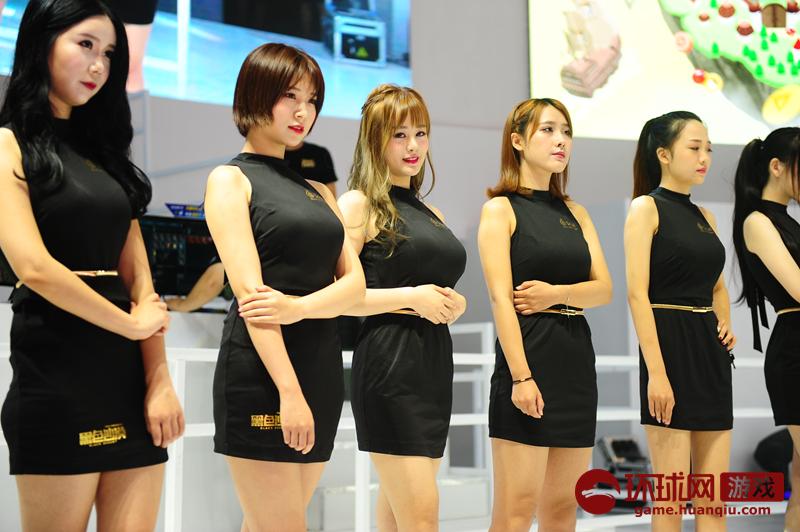蜗牛2017 ChinaJoy:showgirl第一轮走秀