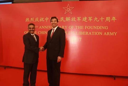 中国驻印度使馆:中方对中印边境事态立场明确坚定