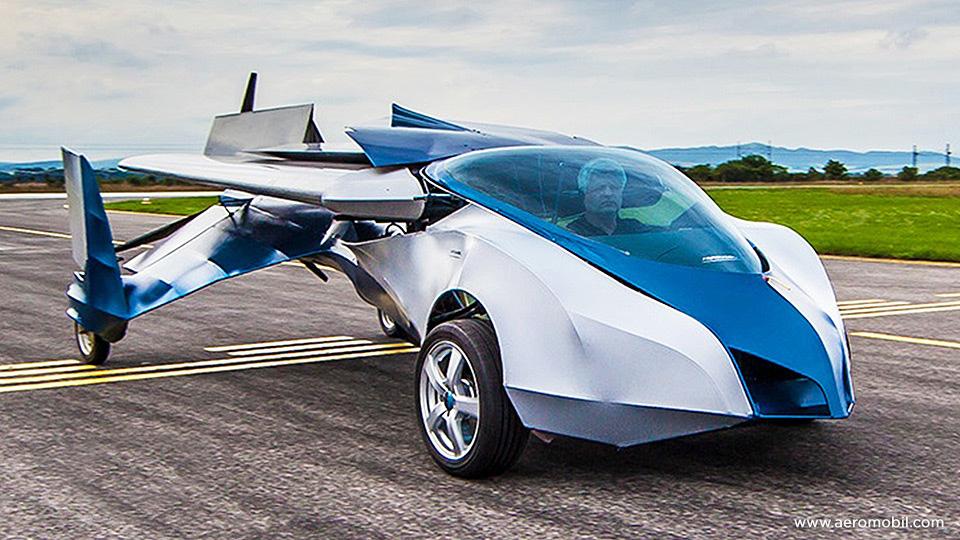 """全新飞行汽车3分可""""变形"""" 飞速可达360公里/小时"""