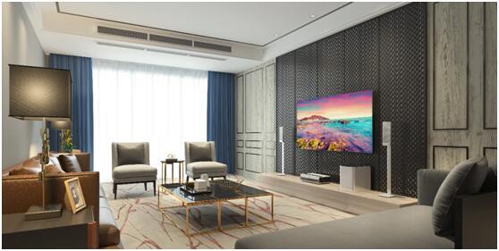 """客厅中的""""科技美学"""" 海信激光电视升级家居体验"""