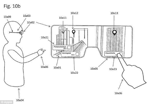 苹果AR眼镜专利图曝光 或成为全新重磅产品