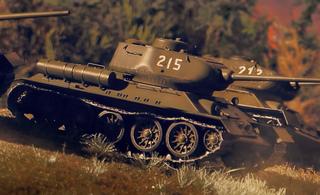 致敬中国军队!最真实最专业还原215坦克鏖战