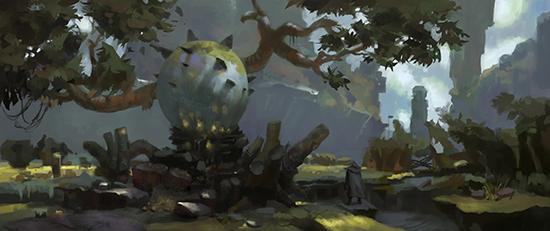 想·未来——我的世界网友作品:森林遗迹