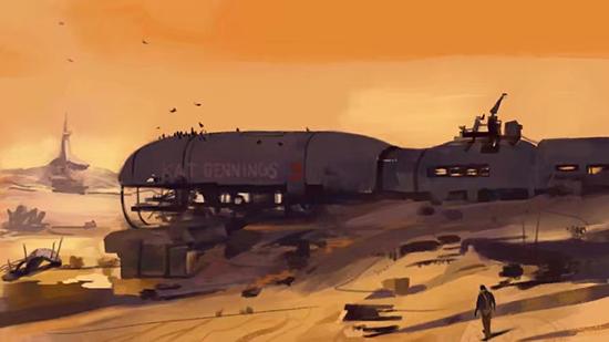 想·未来——我的世界网友作品:沙漠之舟