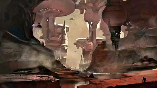 想·未来——我的世界网友作品:沙漠孤城