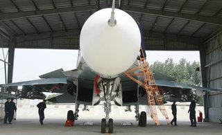 近距离鉴赏俄罗斯苏35战机英姿